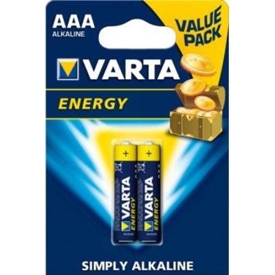 Baterijos VARTA ALKALINE ENERGY, AAA/LR03, 2vnt