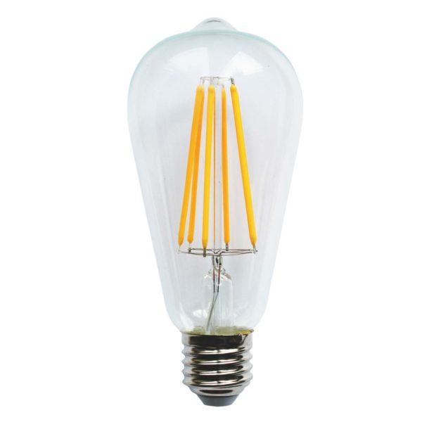 LED lemputė VINTAGE ST64-LL, 6W / 2200K / E27