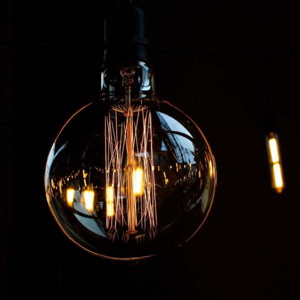 Dekoratyvinė lemputė VINTAGE G125-KL