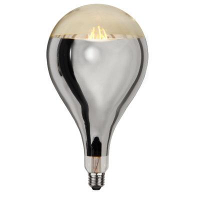 LED lemputė INDUSTRIAL VINTAGE SILVER A165, 8W / 2000K / E27