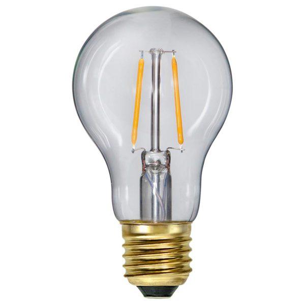 LED lemputė girliandai A60 SOFT GLOW, 1.6W / 2100K / E27