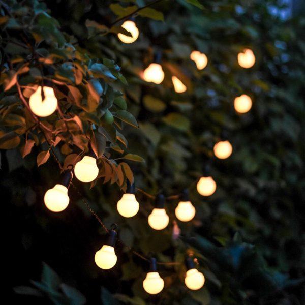 Lempučių girlianda sodui HOOKY