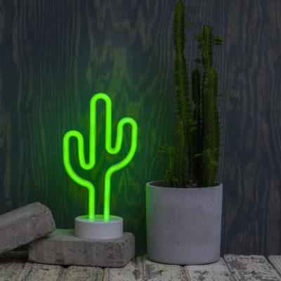 Šviečiantis kaktusas CACTUS NEONLIGHT