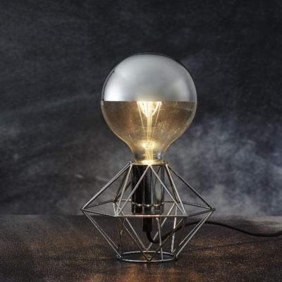 Lemputės stovas EDGE SILVER