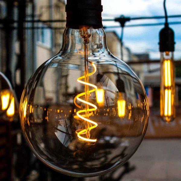 LED lemputė  VINTAGE G125-LS