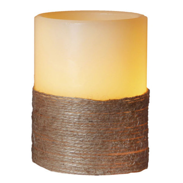 LED žvakė ROPE (10 cm)