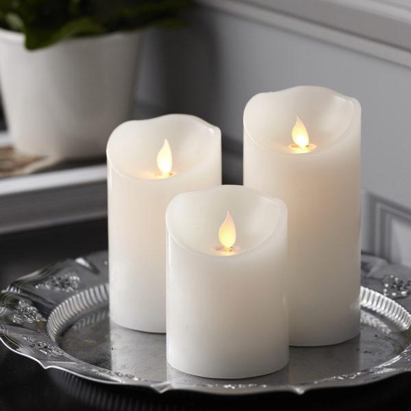 LED žvakė M-TWINKLE (10 cm)