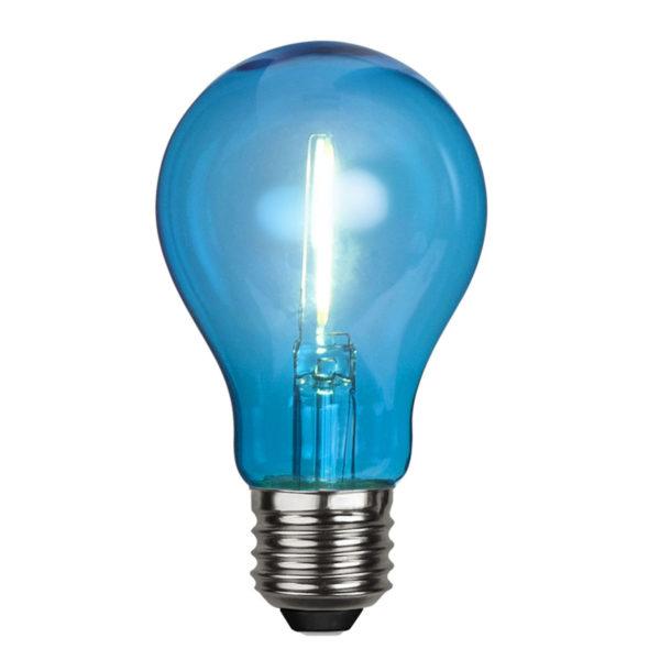 LED lemputė DECORATION PARTY BLUE, 1W / E27