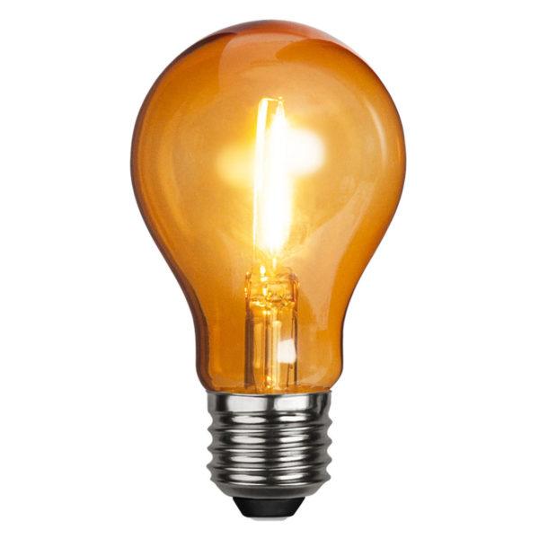 LED lemputė DECORATION PARTY ORANGE