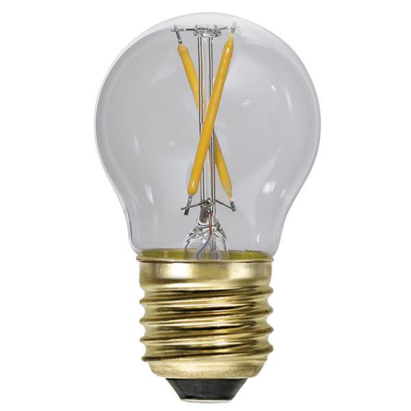 LED lemputė girliadai G45 EXTRA SOFT GLOW, 0.5W / 2100K / E27