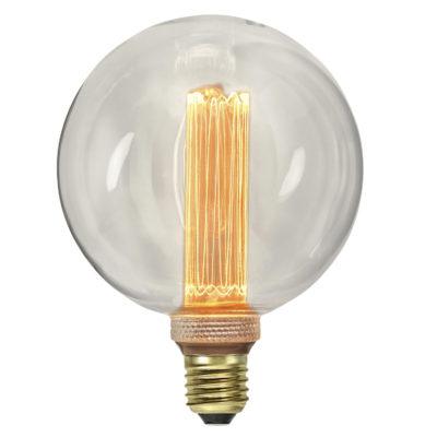 LED lemputė E27 G125 NEW GENERATION CLASSICS, 2.5W / 2000K / E27
