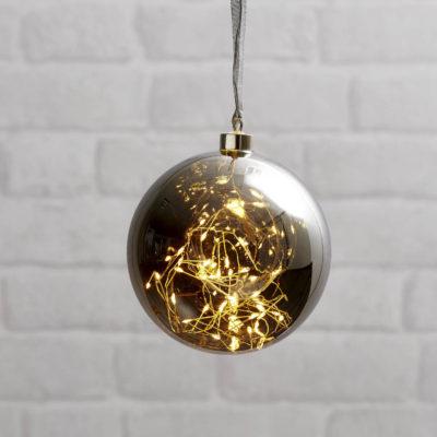 Kalėdinė dekoracija DARK BUBBLE 15