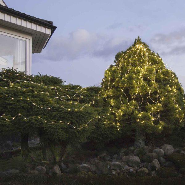 Lemputės-vielutės laukui SILVER DEW DROP 360