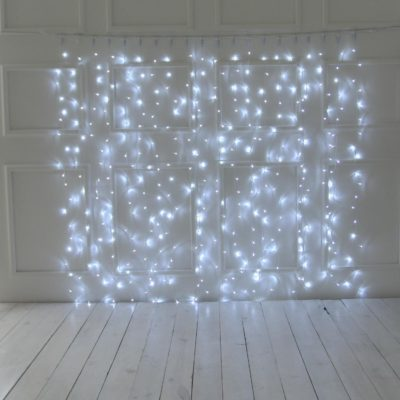 2m LED užuolaida COLD&WHITE IP44
