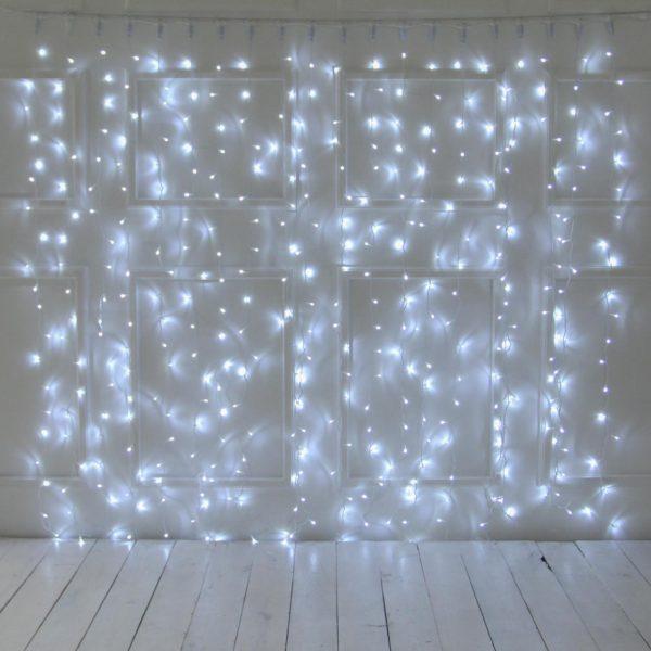3m LED užuolaida COLD&WHITE IP44