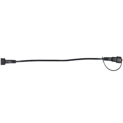 Prailginimo kabelis SYSTEM DECOR 10M BLACK