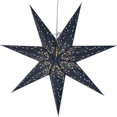 Popierinė žvaigždė BLUE STAR 60CM