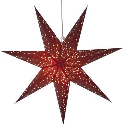 Popierinė žvaigždė RED STAR 60CM