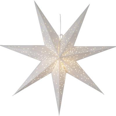 Popierinė žvaigždė WHITE STAR 100CM
