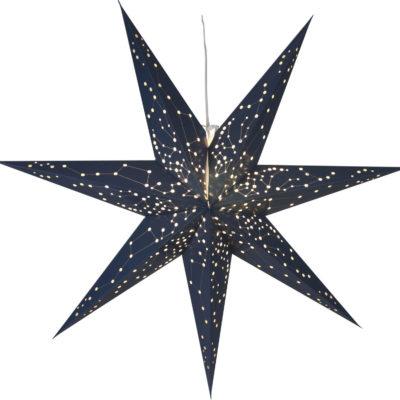 Popierinė žvaigždė BLUE STAR 100CM