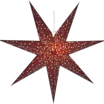 Popierinė žvaigždė RED STAR 100CM