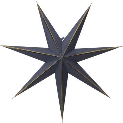 Popierinė žvaigždė BLUE GLOW 60CM