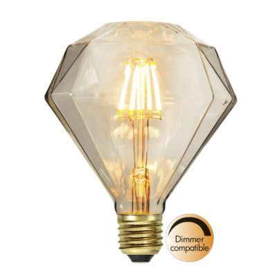 LED lemputė DIAMOND SOFT GLOW, 1.65W / 2200K / E27