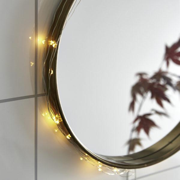Lemputės-vielutės SILVER DEW DROP 40