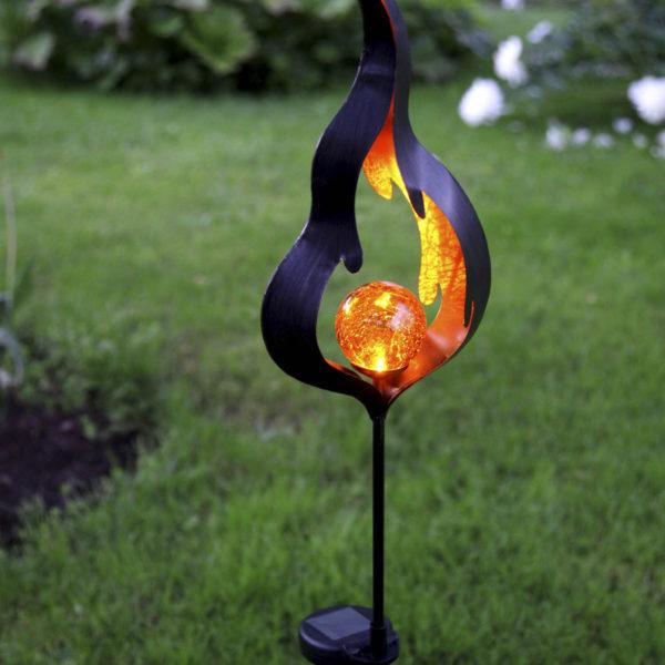 Sodo dekoracija FLAME SOLAR