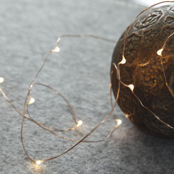 Lemputės-vielutės COPPER DEW DROP 40