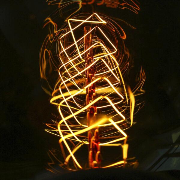 Dekoratyvinė lemputė VINTAGE G125-KS
