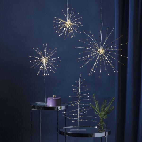 Kalėdinė vidaus dekoracija FIREWORK LIGHT