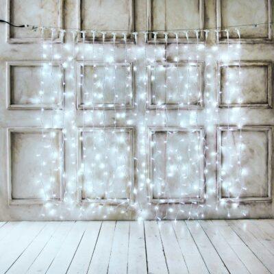 2m LED užuolaida COLD&WHITE PRO IP67