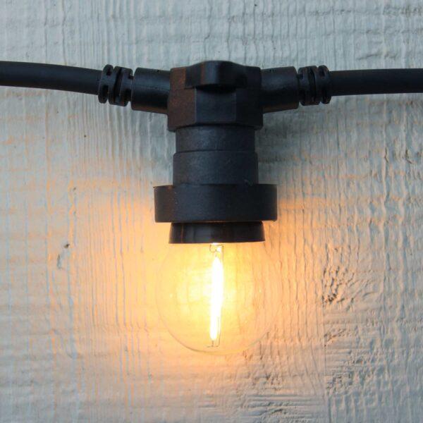 Sujungiamas lempučių girliandos laidas  EXTRA CONNECTA 40