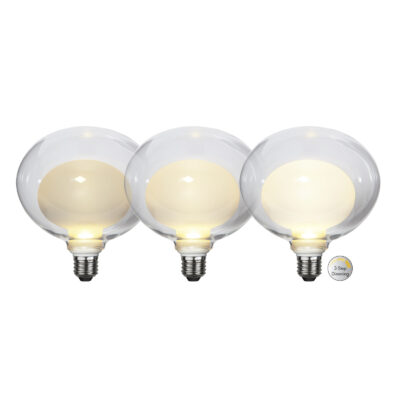 LED lemputė ELIPSE WIDE 3-STEP, 3.5W / 2700K / E27