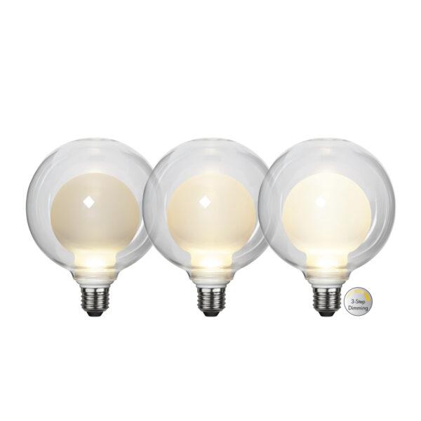 LED lemputė ELIPSE 3-STEP, 3.5W / 2700K / E27