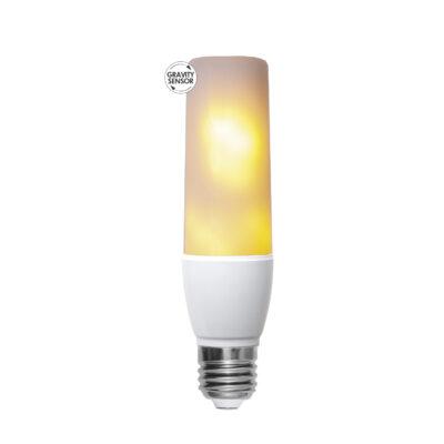 LED lemputė - liepsnos imitacija T45 FLAME, 2.4W-5.9W / 1800K / E27