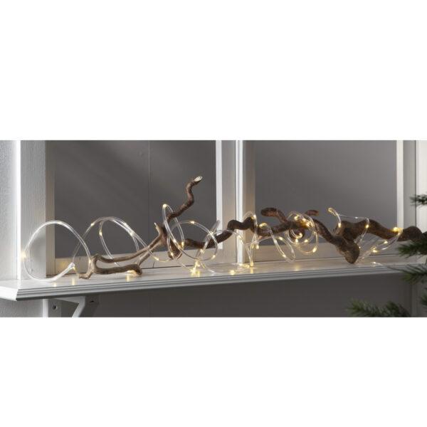 Lempučių girlianda su baterijomis TUBY WHITE