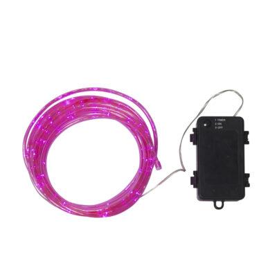 Lempučių girlianda su baterijomis TUBY PINK