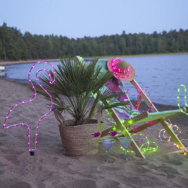 Lempučių girlianda su baterijomis TUBY GREEN