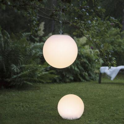 Sodo dekoracija su saulės baterija GLOBY AIR SOLAR Saulės baterijos