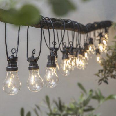 8.5m lempučių girlianda CIRCUS