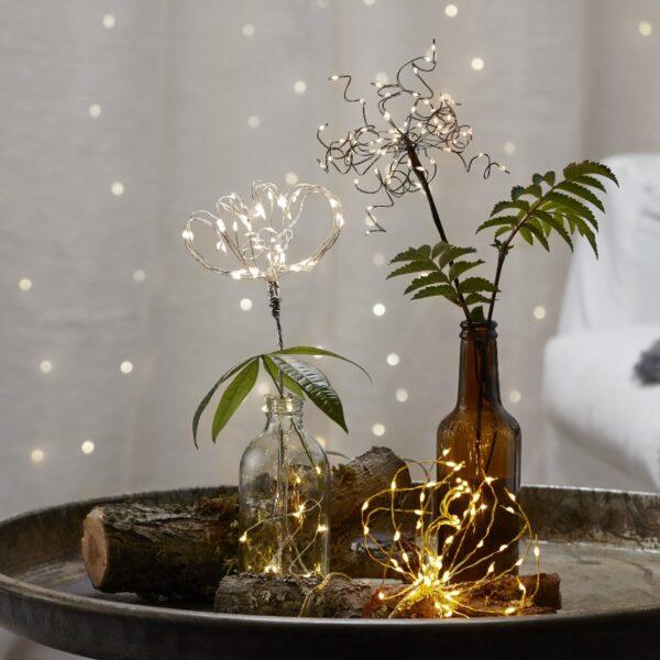 Kalėdinė namų dekoracija FIREWORK FLOWER