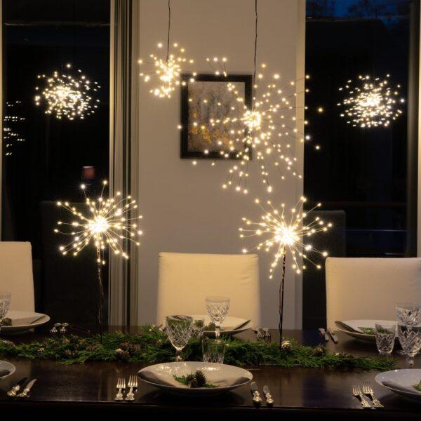 Pakabinama Kalėdinė namų dekoracija FIREWORK 26CM
