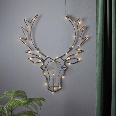 Kalėdinė dekoracija LIGHT DEER