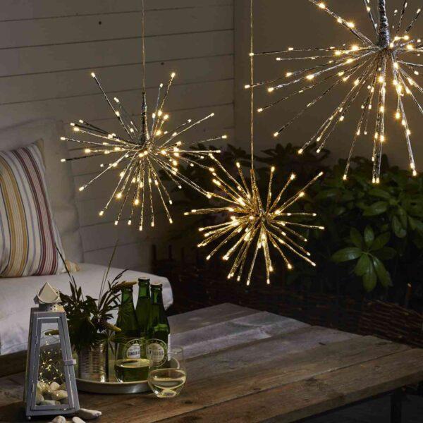 Kalėdinė lauko dekoracija FIREWORK 40CM