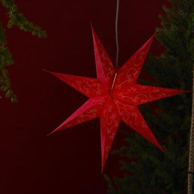 Popierinė žvaigždė DECORUS 75CM