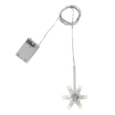 Lemputė su baterijomis popierinėms ŽVAIGŽDĖMS