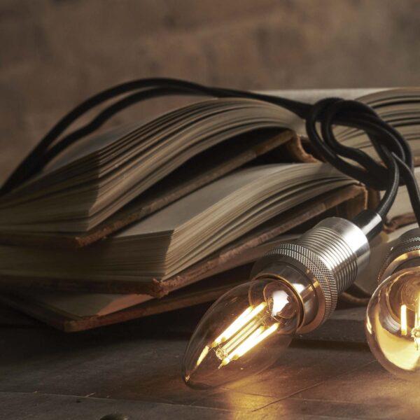 LED lemputė C35 SOFT GLOW 3-STEP, 4W / 2100K / E14