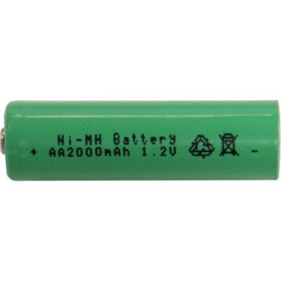 Pakraunama baterija AA, 1,2V 2000MAH NI-MH